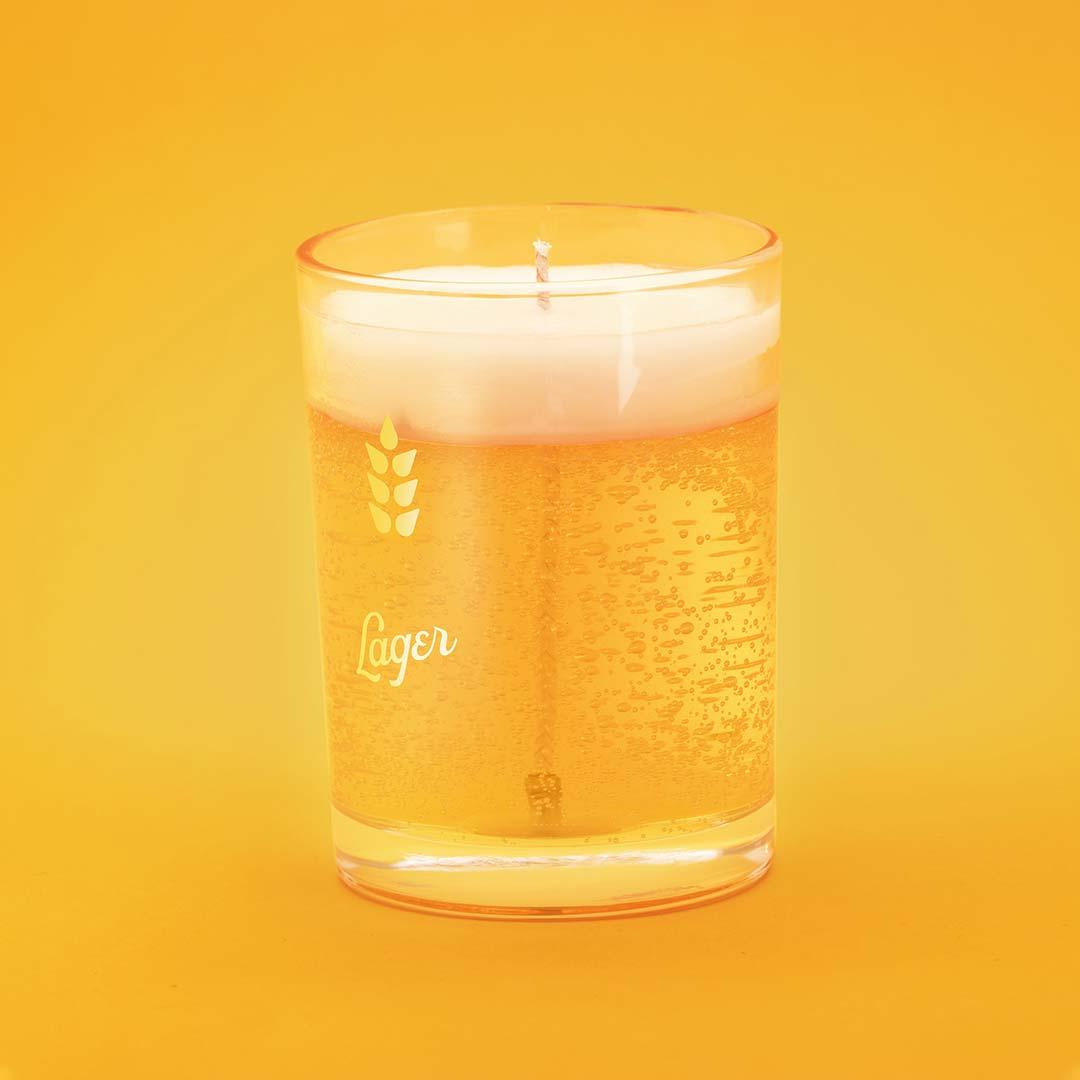 Bougie à la Bière