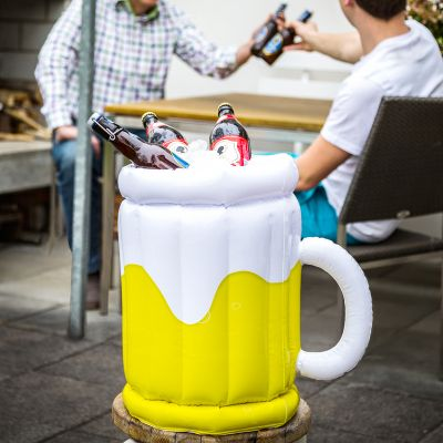 Seau à bière gonflable