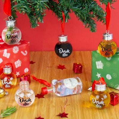 Boules à Liqueur pour Sapin de Noël