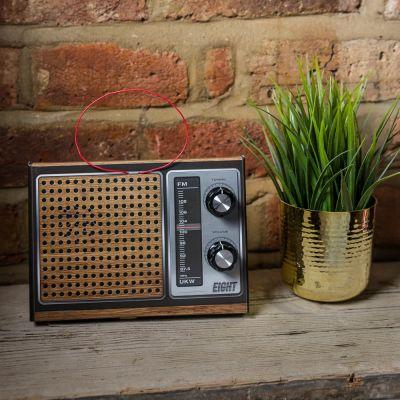 Radio rétro à monter soi-même