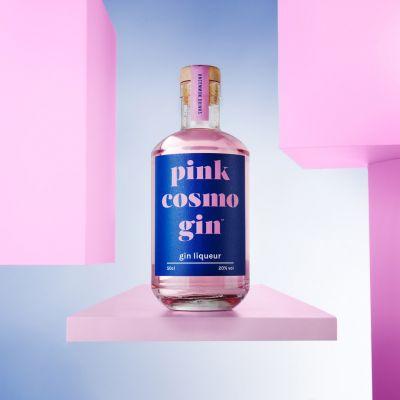 Gin Pink Cosmopolitan