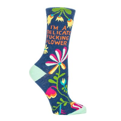 Chaussettes Delicate Fucking Flower