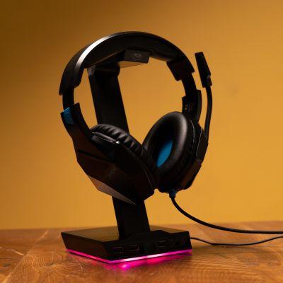 Support Light Up pour casque audio Zeta RED5