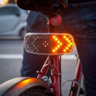 Signal Pod d'IGGI: feux clignotants pour vélo