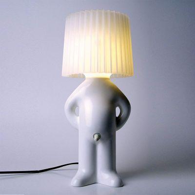 Lampe Mr. P. avec Abat-jour