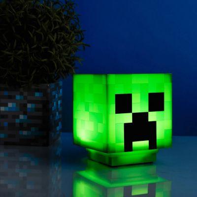 Lampe Minecraft Creeper