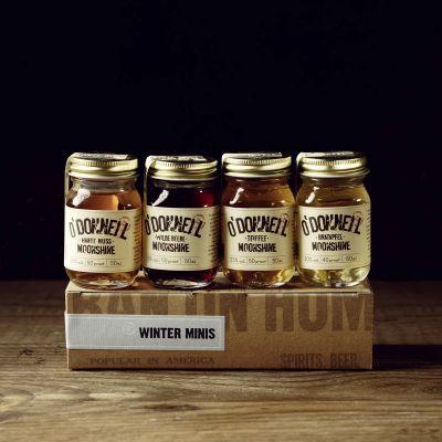 Coffret Liqueurs pour l'Hiver O'Donnell Moonshine