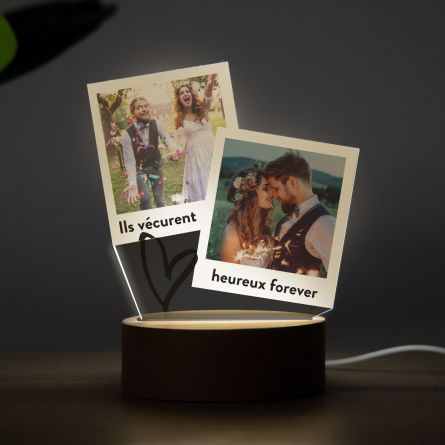 Lampe LED design Polaroid