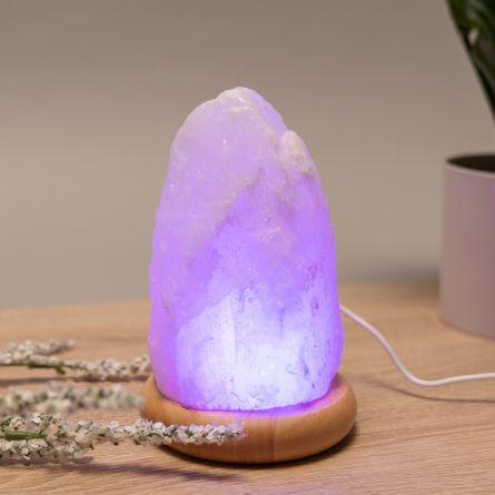 Lampe de sel d'Himalaya avec USB