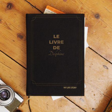 Journal de bord My Life Story avec texte