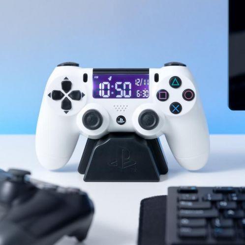 Réveil manette de Playstation Blanc