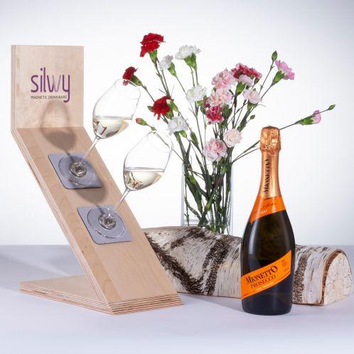 Coffret cadeau Prosecco et verres