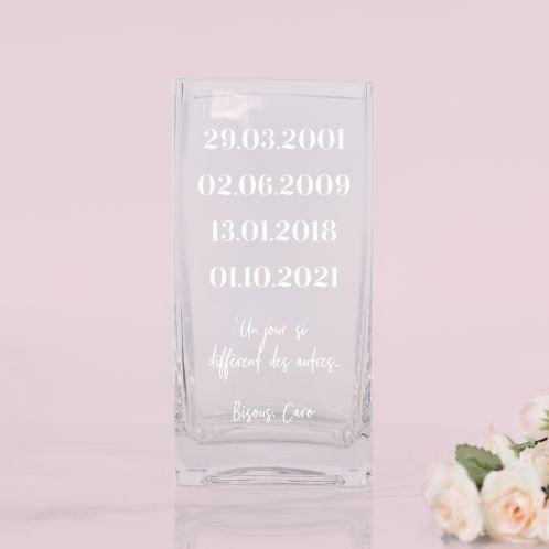 Vase Dates importantes