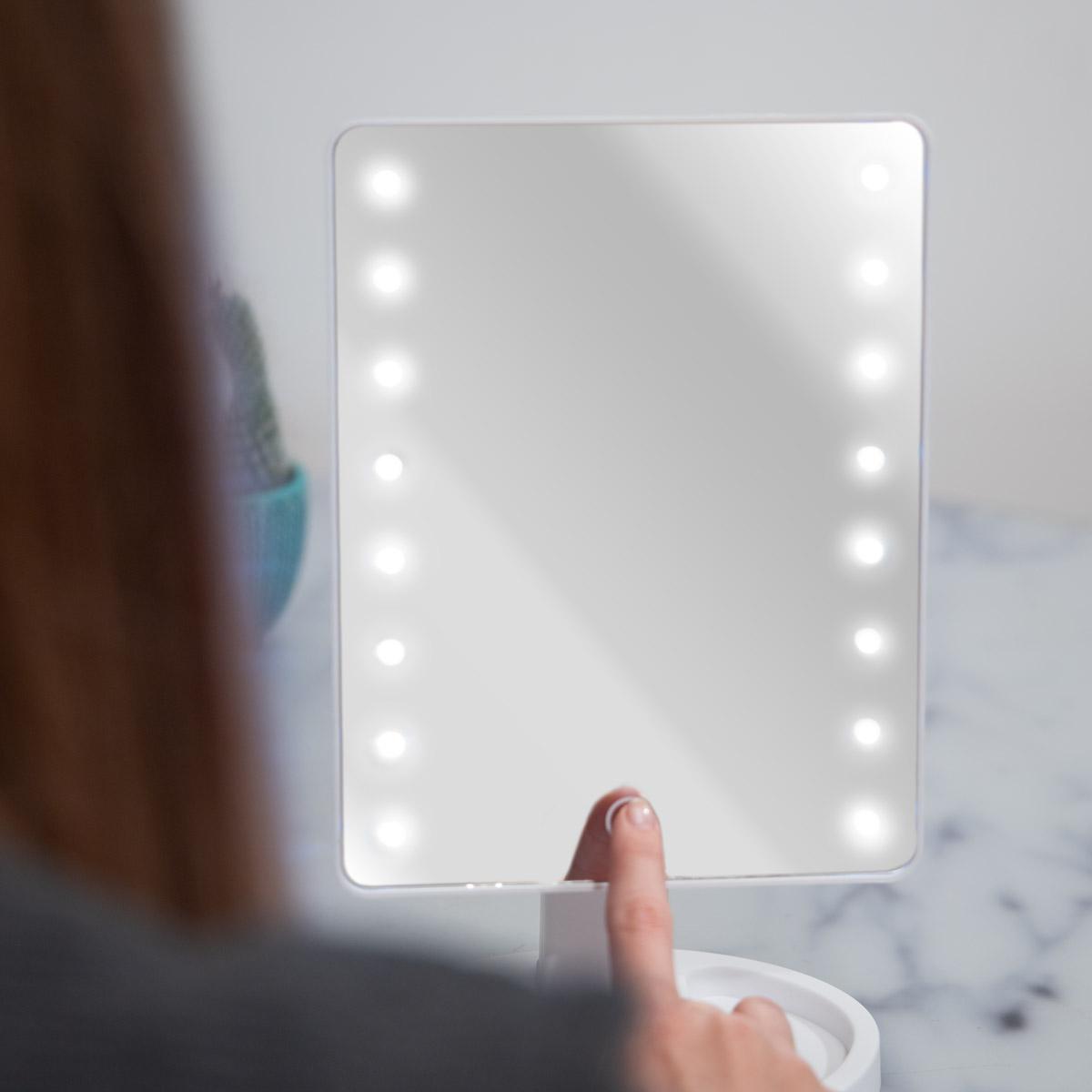 Miroir Hollywood avec LEDs