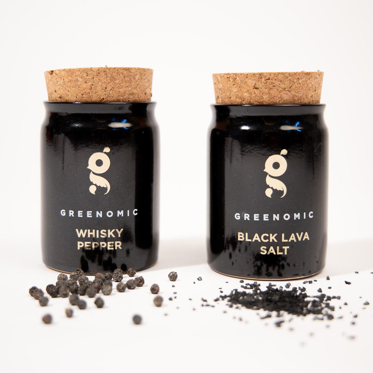 Sel noir de Lave ou Poivre au Whisky