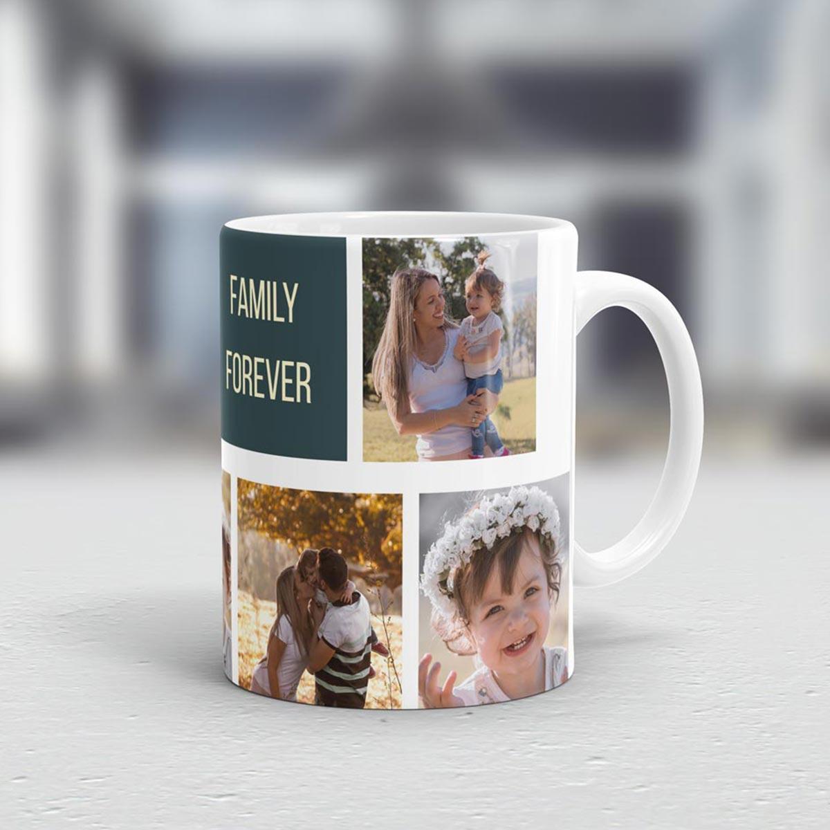 cadeau maman Tasse Photo Personnalisable