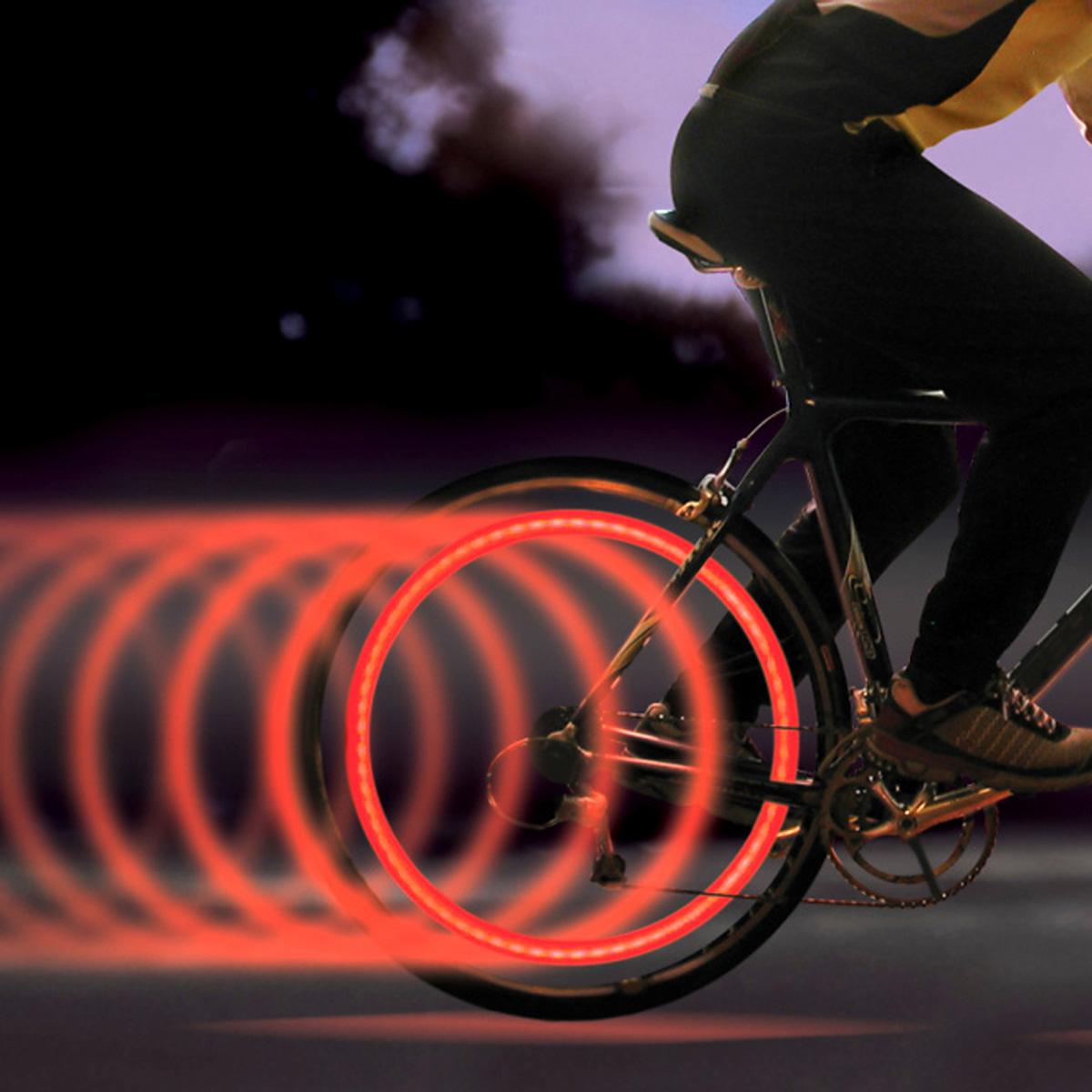 Lumières de rayon de vélo