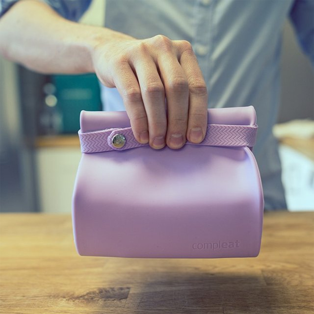 Lunchbox Compleat en silicone