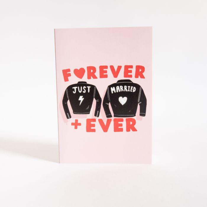Carte de Mariage Forever + Ever