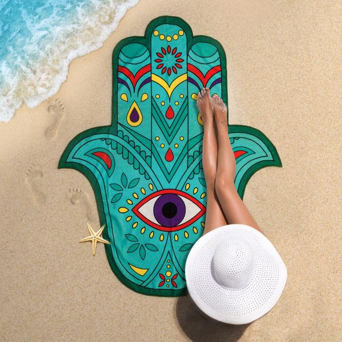 Serviette de plage Main de Fatima