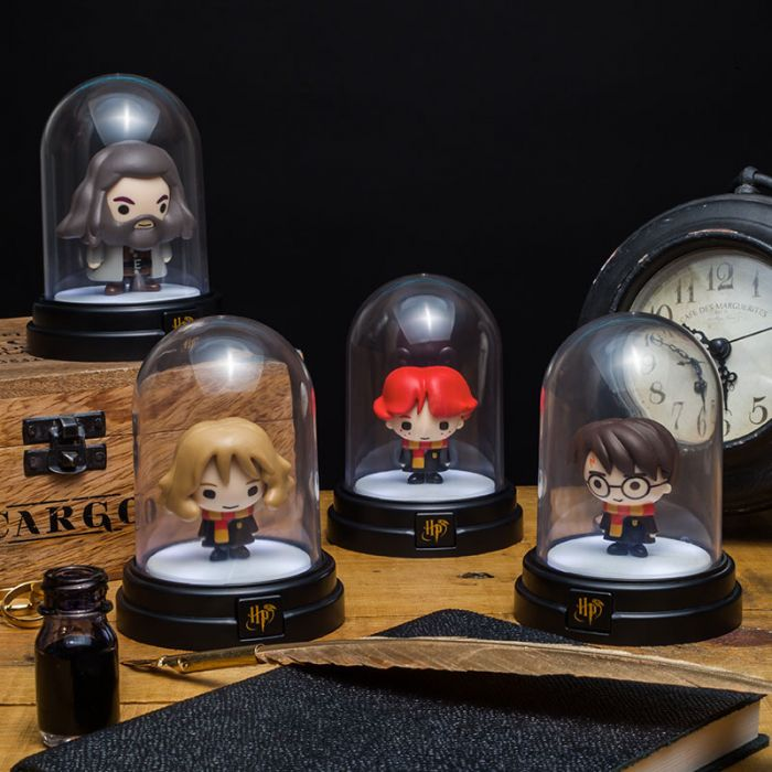 Lampes sous cloche Harry Potter