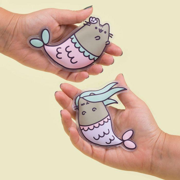 Chauffe-mains Pusheen Sirène - Lot de deux