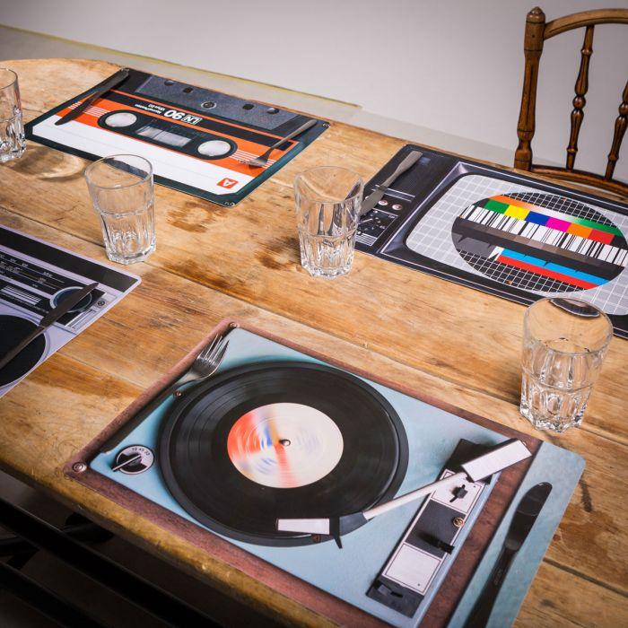 Sets de table Rétro – 4 pièces