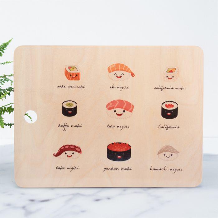 Planche à découper Sushi