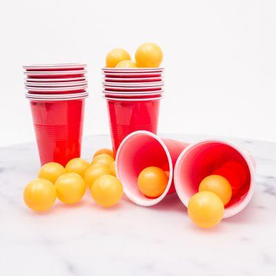 Kit Beer Pong (24 balles & 24 gobelets)
