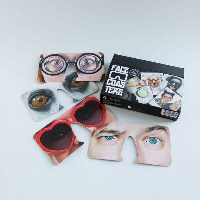 Masques Face Coasters