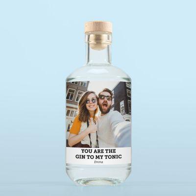 Gin avec Photo et Texte