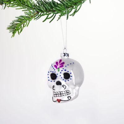 Boule de Noël Sugar Skull
