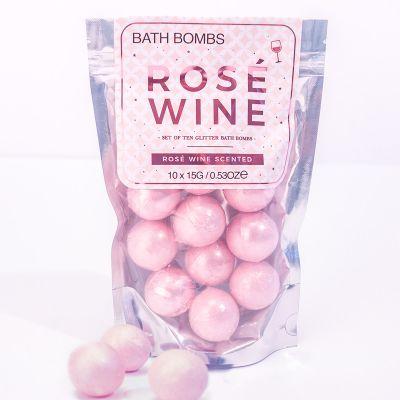 Bombes de bain – Vin rosé