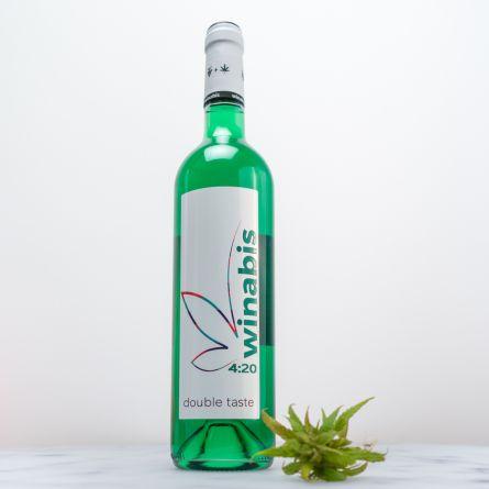 Cocktail Vert - Vin & Cannabis