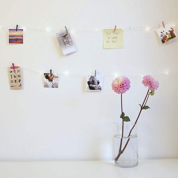 Guirlande LED Mini Pinces à linge