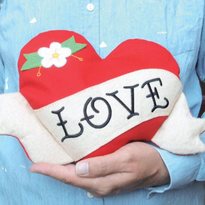 Coussin Chauffant Love