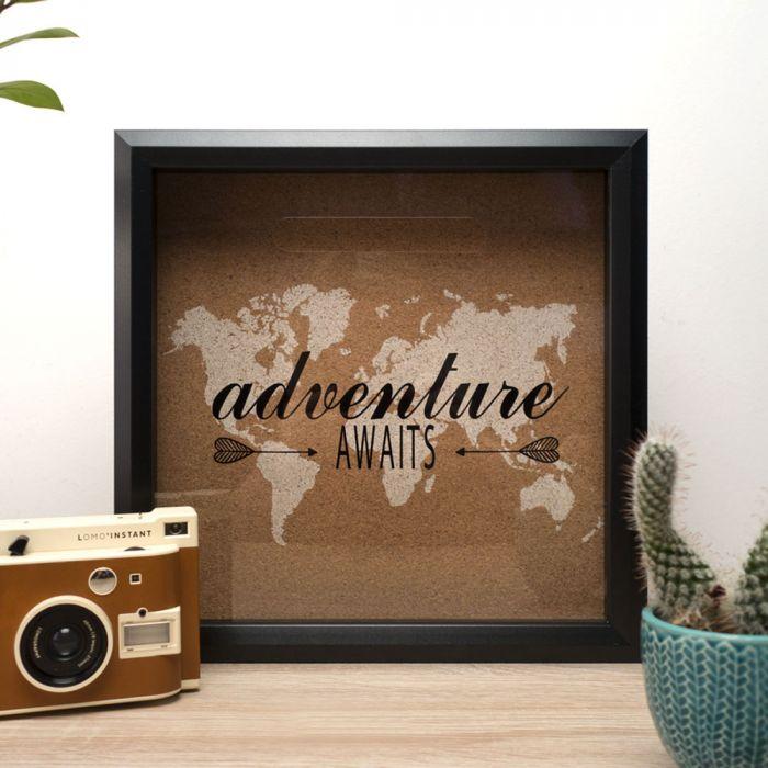 Tirelire Souvenirs de Voyage