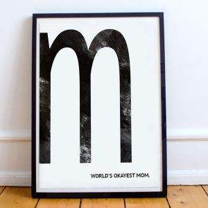 Poster Personnalisable - Monogramme