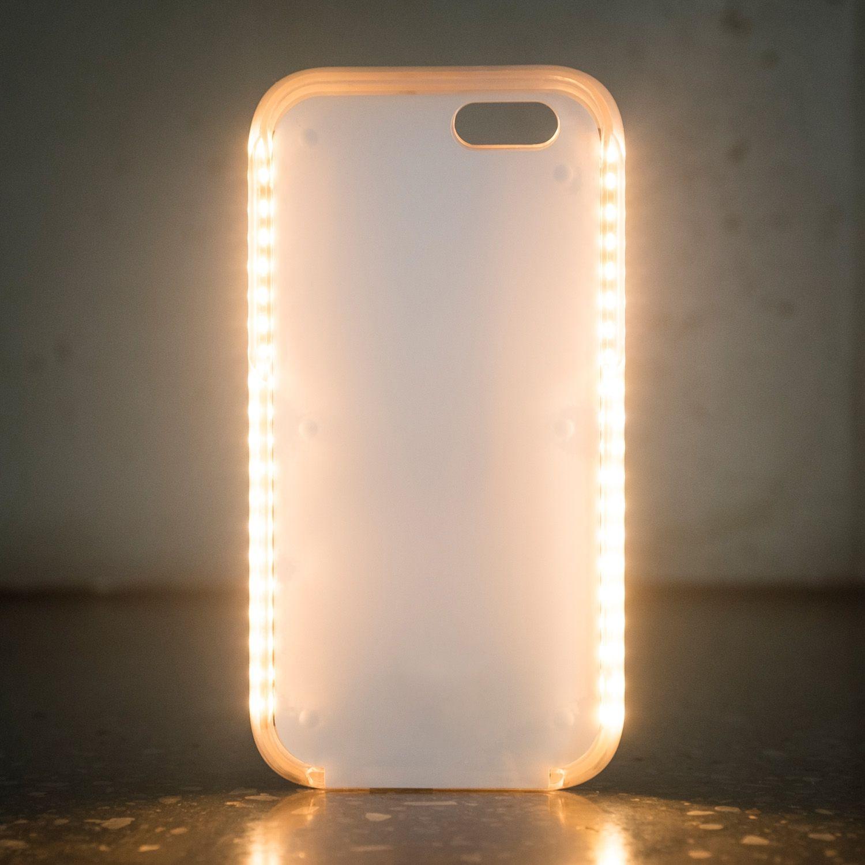 coque iphone 6 lumineuse selfie or