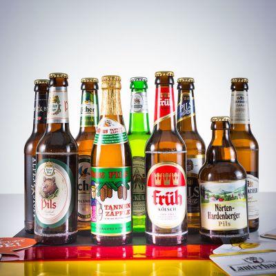 Cadeau anniversaire papa - Coffret de 9 Bières Allemandes