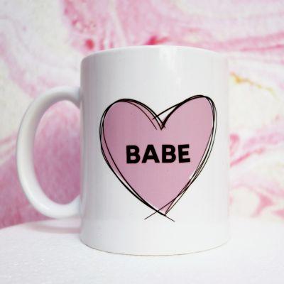 Cadeau romantique - Tasse Babe