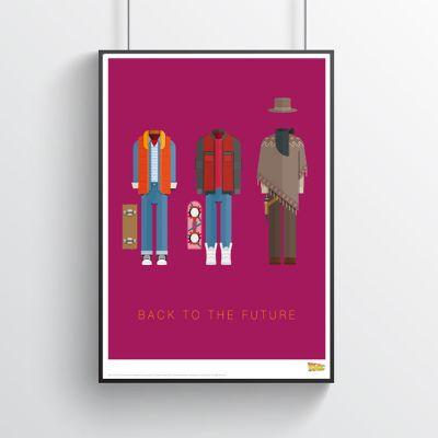 Films & Télévision  - Poster de film Costumes – Retour vers le Futur
