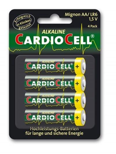 Idées cadeaux pour mettre dans le calendrier de l'avent - Cardiocell Batterie Mignon Plus AA-LR6 Lot de 4