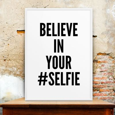 Produits exclusifs - Selfie Poster par MottosPrint
