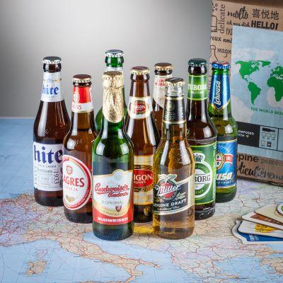 Cadeau papa - Le tour du monde en 9 bières