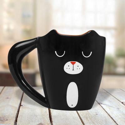 Cadeau 50 ans - Tasse Chat Noir