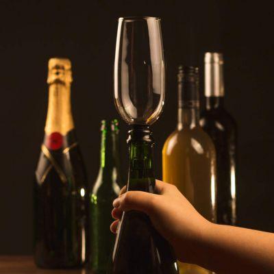 Idées cadeaux pour mettre dans le calendrier de l'avent - Flûte à Champagne à Fixer
