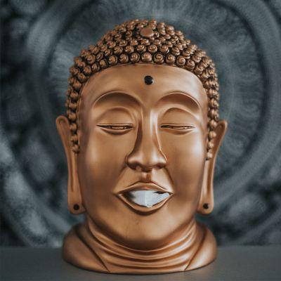Cadeaux de Noël pour parents - Distributeur de mouchoirs Bouddha