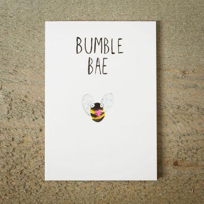 Cadeau Saint Valentin Femme - Carte de vœux Abeille BAE