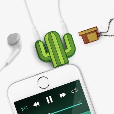 Idée cadeau femme - Splitter audio Cactus